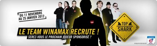 Top Shark : intégrez la Team Winamax!