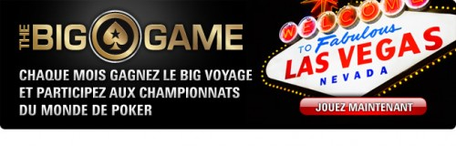 « Big Voyage » to Vegas sur Pokerstars
