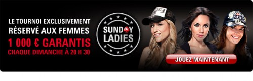 Sunday Ladies sur Pokerstars
