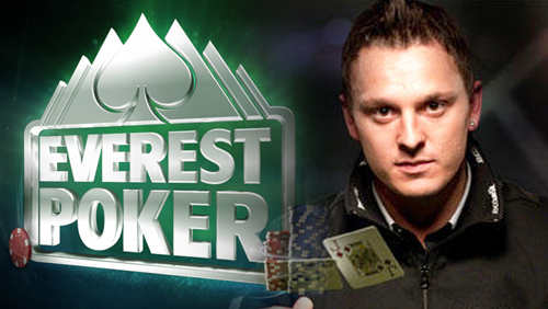 Sam Trickett, nouvel ambassadeur d'Everest Poker