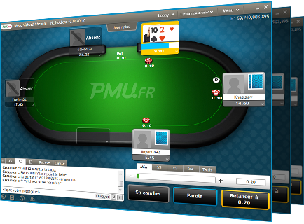 Pmu poker sans telechargement poker prop player jobs