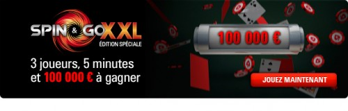 Spin and Go XXL : Pokerstars envoie de la grosse promo